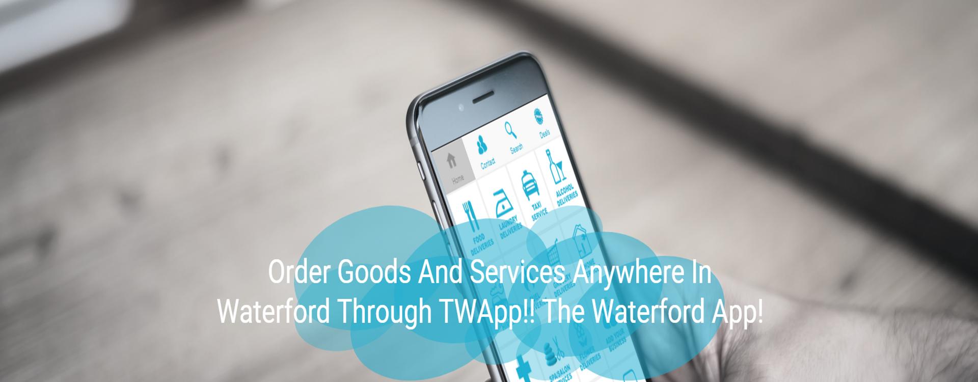 Twapp The Waterford App Twapp Media Web Design