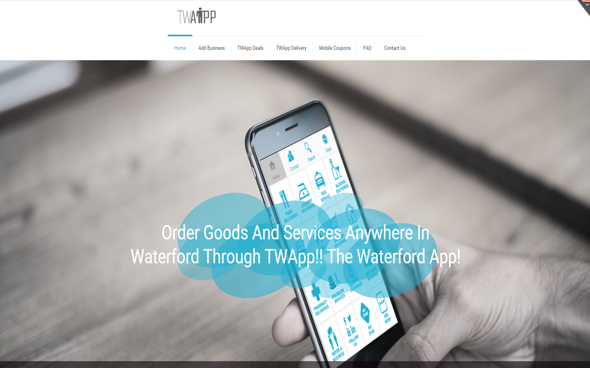 Twapp The Waterford App Twapp media Web Design