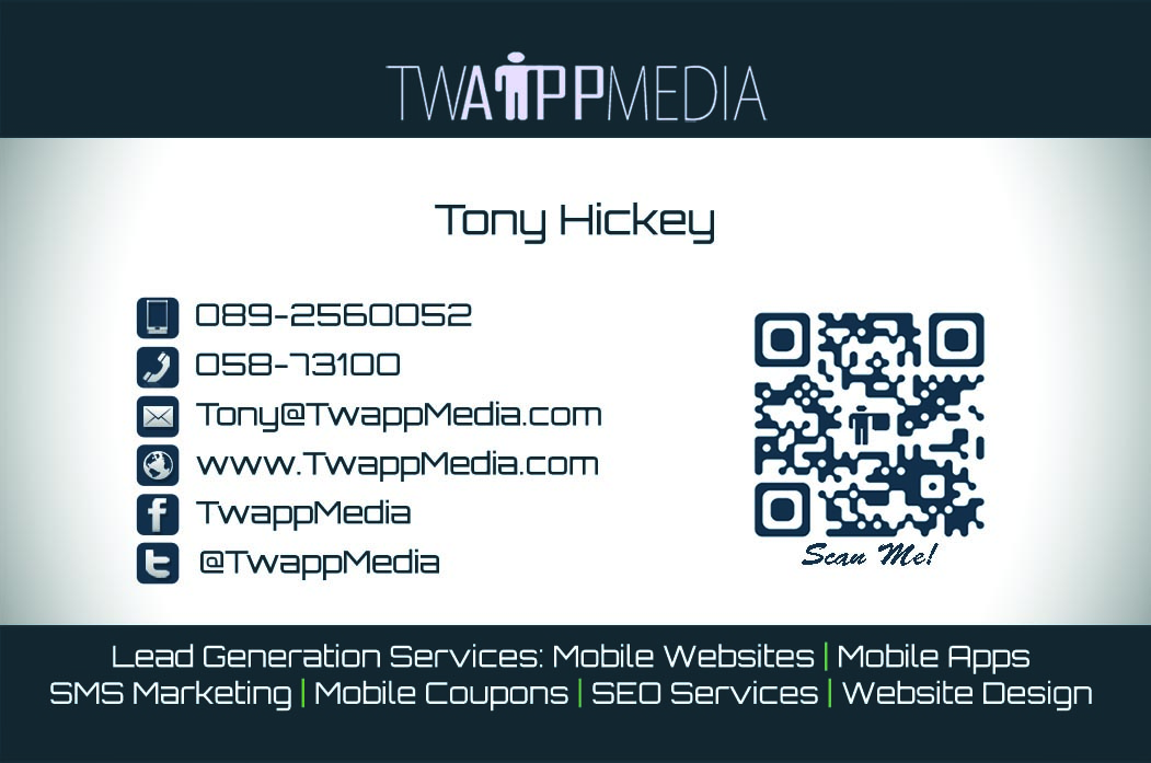 Business Card Design Front Waterford