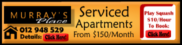 Serviced Appartments And Squash Court Banner Design