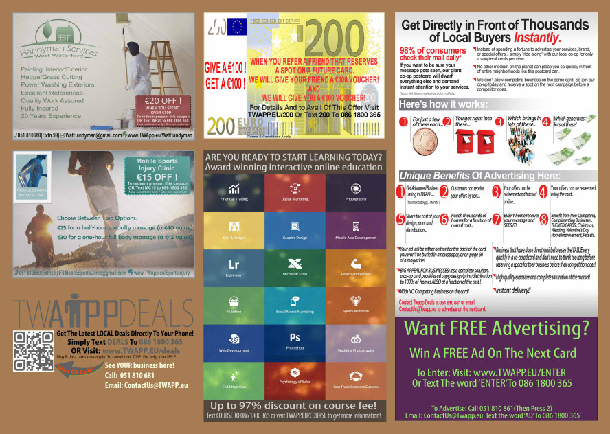 Brochure Design Deals Card